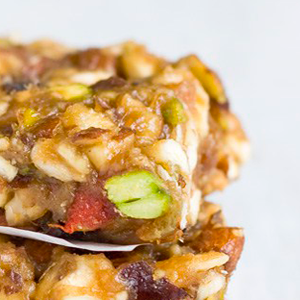 sticky energy bar